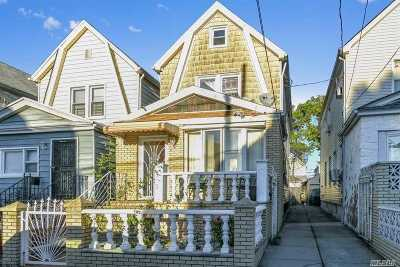 Richmond Hill Single Family Home For Sale: 104-27 125th St