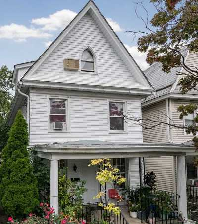 Woodhaven Single Family Home For Sale: 88-06 89th St