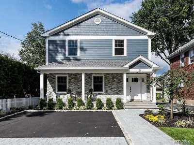 Port Washington Single Family Home For Sale: 39 Fairview Ave