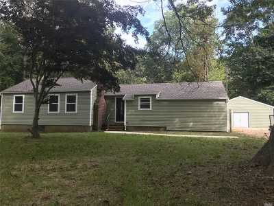 Middle Island Single Family Home For Sale: 47 S Swezeytown Rd