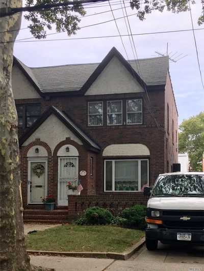 Ozone Park Single Family Home For Sale: 132-35 83rd St