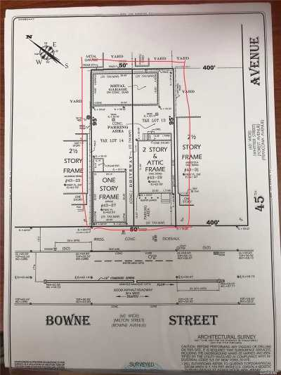 Flushing Residential Lots & Land For Sale: 43-27/29 Bowne St