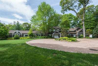 Brookville Single Family Home For Sale: 1620 Old Cedar Swamp Rd
