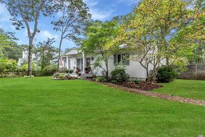 E. Quogue Single Family Home For Sale: 10 Chestnut Ln