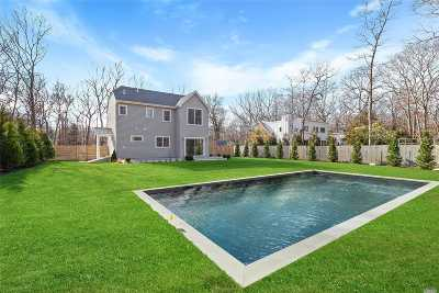 East Hampton Single Family Home For Sale: 84 Sycamore Dr