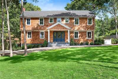Sag Harbor Single Family Home For Sale: 24 Pheasant Rd