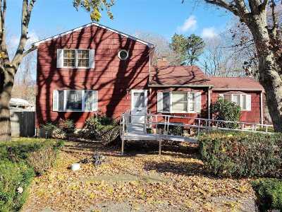 Ridge Single Family Home For Sale: 9 Half Moon Pond Rd