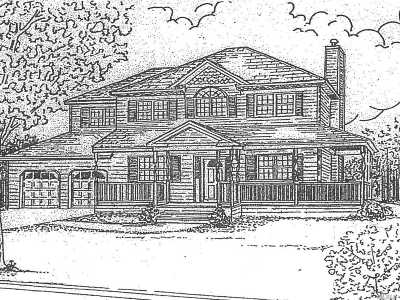 Hauppauge, Nesconset Single Family Home For Sale: Lot 2 Milmay Ave