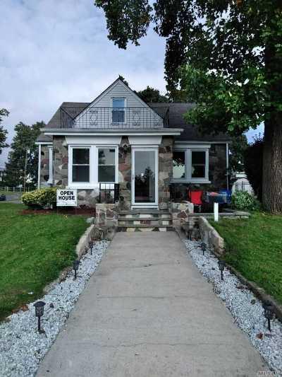 Copiague Single Family Home For Sale: 10 Hawkins Blvd