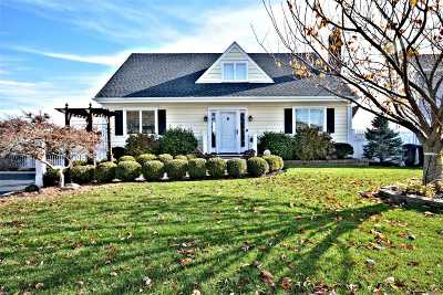 West Islip Single Family Home For Sale: 153 Sequams Lane Ctr