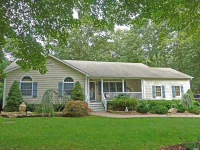 Wading River Single Family Home For Sale: 299 Great Rock Dr