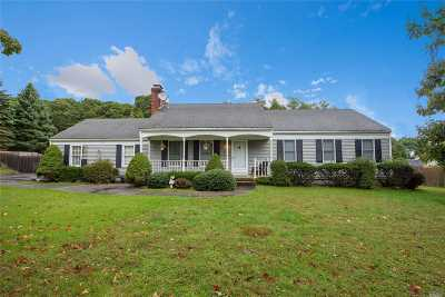 Wading River Single Family Home For Sale: 30 N Farm Rd
