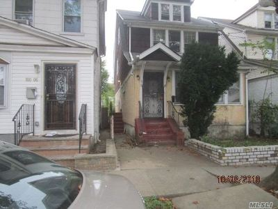 Jamaica Single Family Home For Sale: 160-04 111th Ave