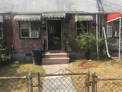 Jamaica Single Family Home For Sale: 107-20 Watson Pl