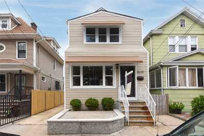 Woodhaven Single Family Home For Sale: 86-22 86th St