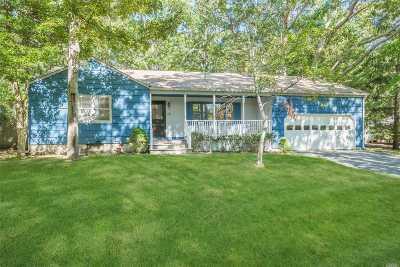 Hampton Bays Single Family Home For Sale: 6 Robins Nest Ln