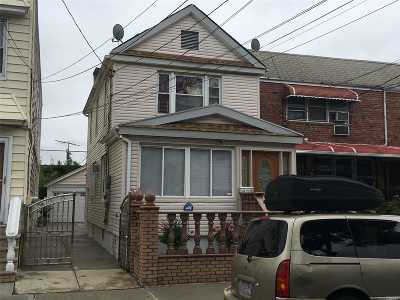 Ozone Park Multi Family Home For Sale: 103-12 102 St