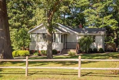Miller Place Single Family Home For Sale: 49 Cedar Dr