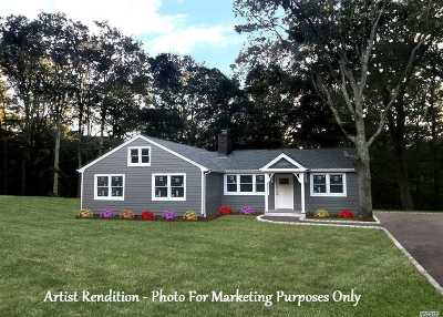 Cutchogue Single Family Home For Sale: 375 Broadwaters Rd