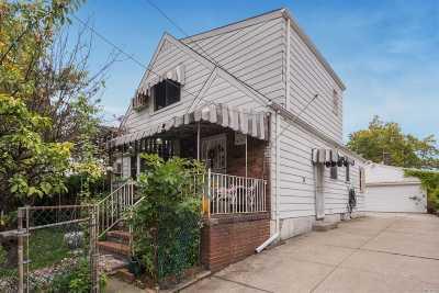 Flushing Single Family Home For Sale: 137-07 63rd Ave