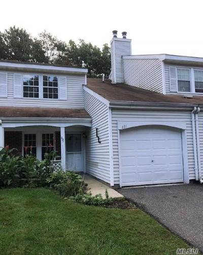 Middle Island Condo/Townhouse For Sale: 231 Ivy Meadow Ct