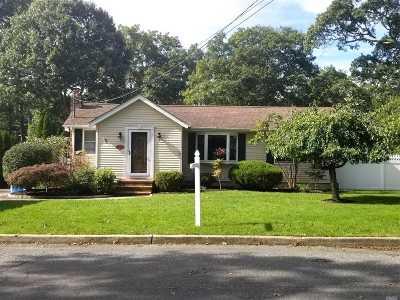 Nesconset Single Family Home For Sale: 54 Seawanhaka Ave