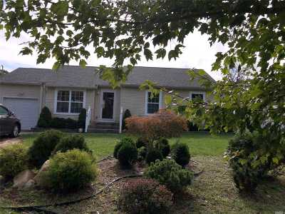 Selden Single Family Home For Sale: 28 Mooney Pond