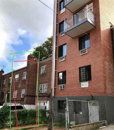 Flushing Residential Lots & Land For Sale: 43-25 Byrd St