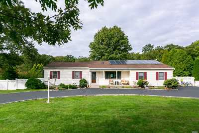 Miller Place Single Family Home For Sale: 424 Miller Place Rd