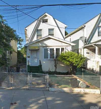 Jamaica Single Family Home For Sale: 109-19 Pinegrove St