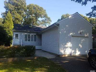 Miller Place Single Family Home For Sale: 7 Central Ave