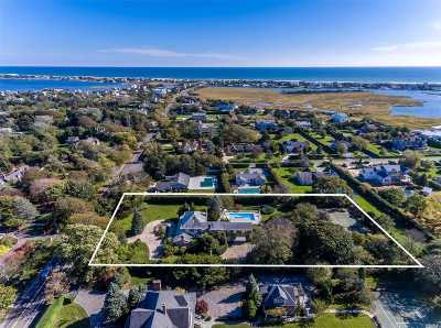 Westhampton Bch Single Family Home For Sale: 67 Beach Ln