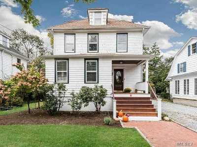 Oyster Bay Single Family Home For Sale: 45 Florence Ave