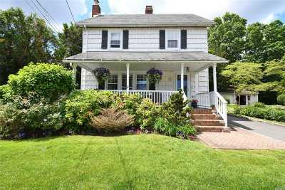 Syosset Single Family Home For Sale: 15 1st St