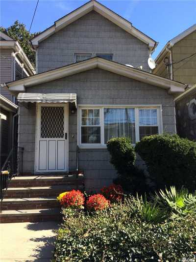 Woodhaven Single Family Home For Sale: 89-29 96th St