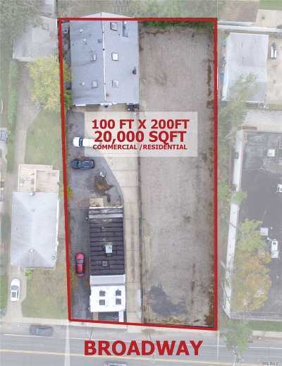 Hewlett Commercial For Sale: 1717/1715 Broadway