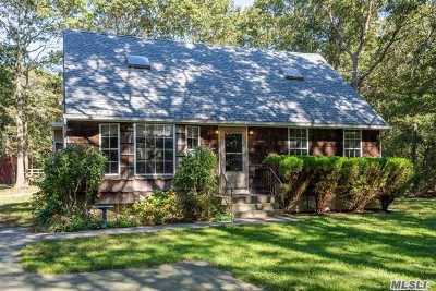 Manorville Single Family Home For Sale: 367 Wading River Rd