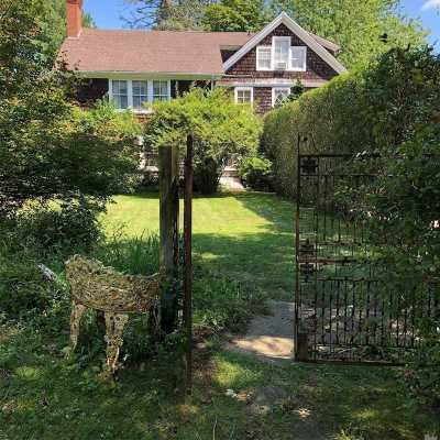 Southampton Single Family Home For Sale: 3 Bishop Ln