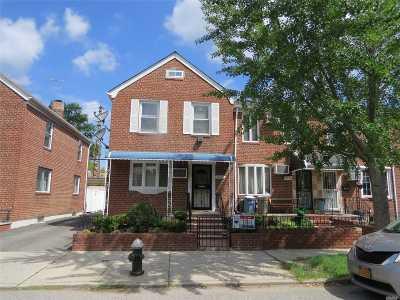 Flushing Single Family Home For Sale: 195-01 Station Rd