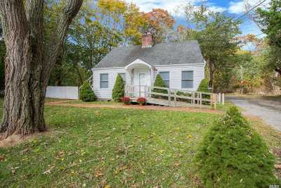 East Hampton Single Family Home For Sale: 379 Pantigo Rd