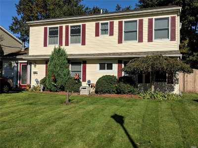 Levittown Single Family Home For Sale: 37 Compass Ln