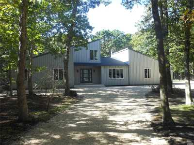 Quogue Single Family Home For Sale: 29 Deer Path