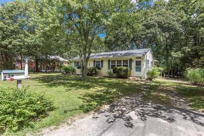 Sag Harbor Single Family Home For Sale: 28 Oak Dr