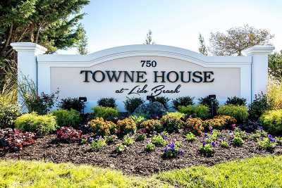 Lido Beach Condo/Townhouse For Sale: 750 Lido Blvd #40A