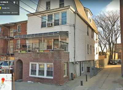 Woodside Multi Family Home For Sale: 34-11 58th St