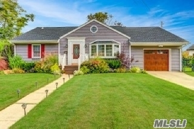 Copiague Single Family Home For Sale: 205 Baylawn Ave