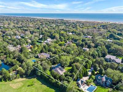 Amagansett Single Family Home For Sale: 9 Southview