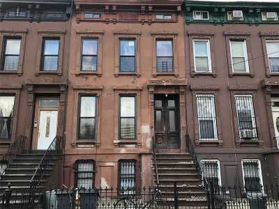 Brooklyn Multi Family Home For Sale: 822 Lafayette Ave