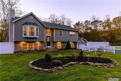 Middle Island Single Family Home For Sale: 160 W Bartlett Rd