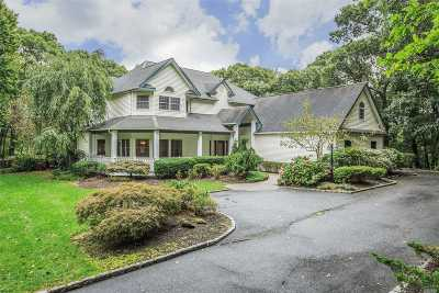 Setauket Single Family Home For Sale: 8 Mill River Rd